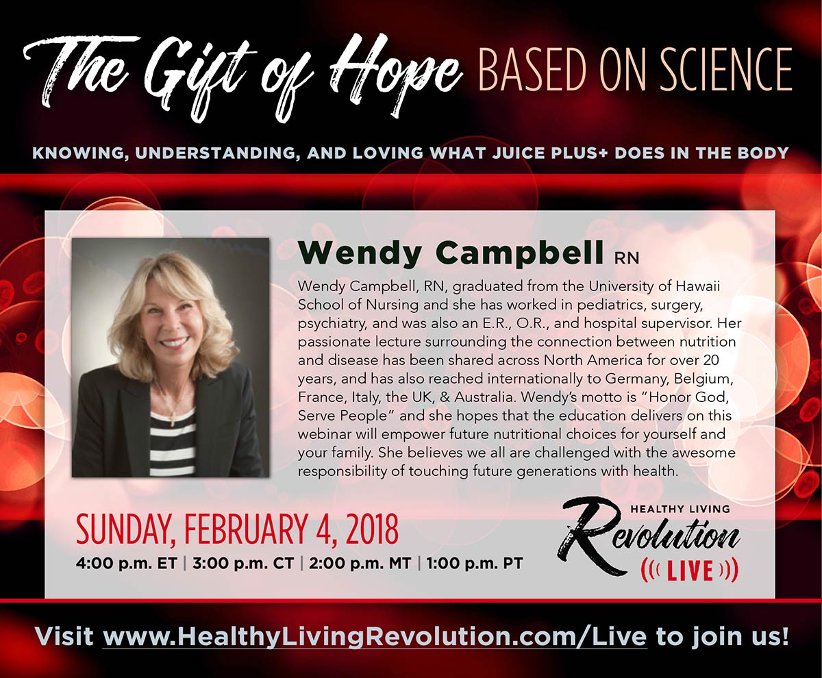 The Gift of Hope based on Science