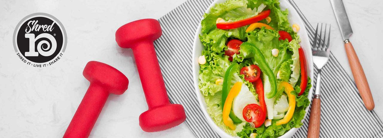 Shred10 Salad
