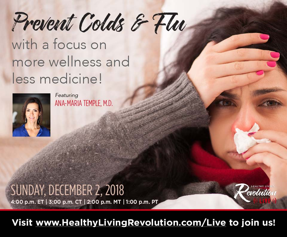 Prevent Colds & Flu — Ana-Maria Temple, MD