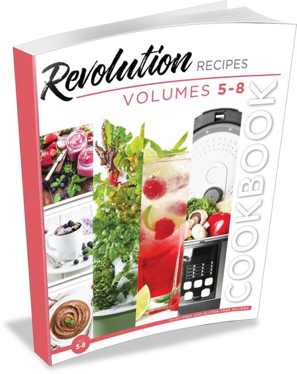 Revolution Recipes Volumes 5-8