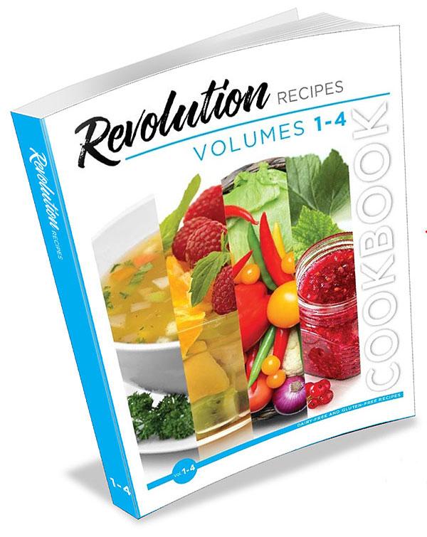 Revolution Recipes Cookbook Vol 1-4