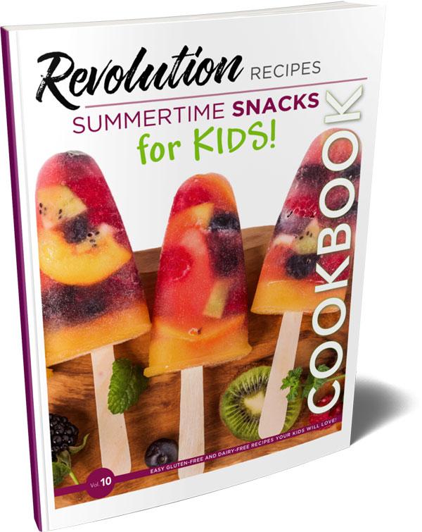 Revolution Recipes Summertime Snacks for Kids!